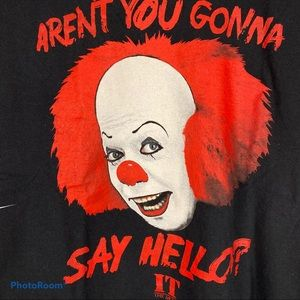 """""""IT THE MOVIE"""" Pennywise The Clown Graphic T-Shirt"""